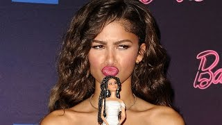 Zendaya's New Barbie Doll Receives Mixed Reactions From Demi Lovato & Nicki Minaj