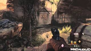 "Black Ops 2 Zombies ""BURIED"" - Awaken The Gazebo Achievement Guide! (PAP Round 1 SUPER EASY)"