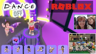 Come Dancing in the Roblox-such mother such a daughter