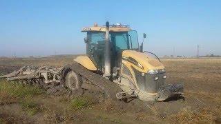 Challenger mt 745C stuck in the mud