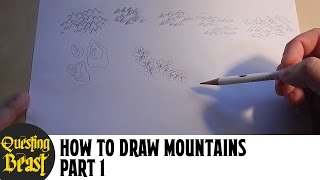 Quest Atlas - How to Draw Mountains