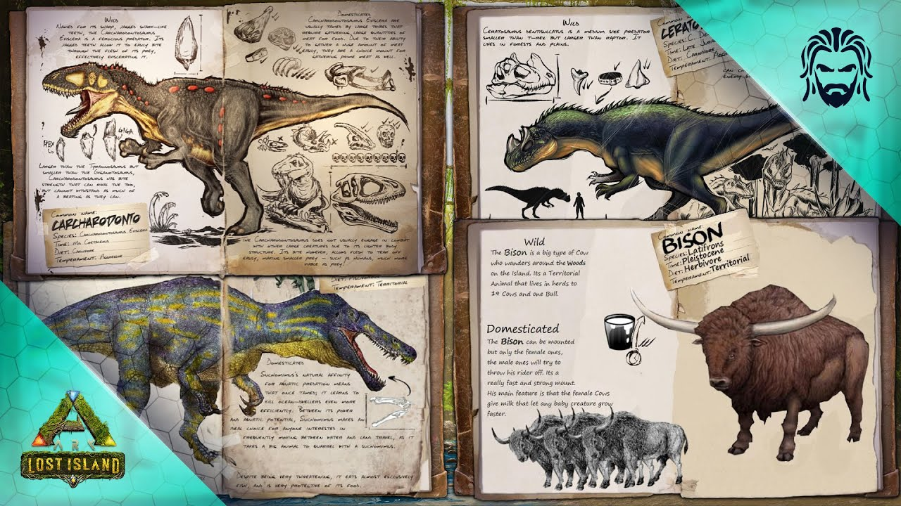 One of these Creatures will be Added to ARK! - ARK Lost Island DLC Creature Vote
