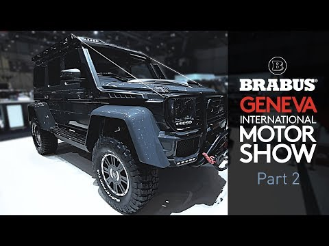 BRABUS - Geneva International Motor Show | 2018 Part 2