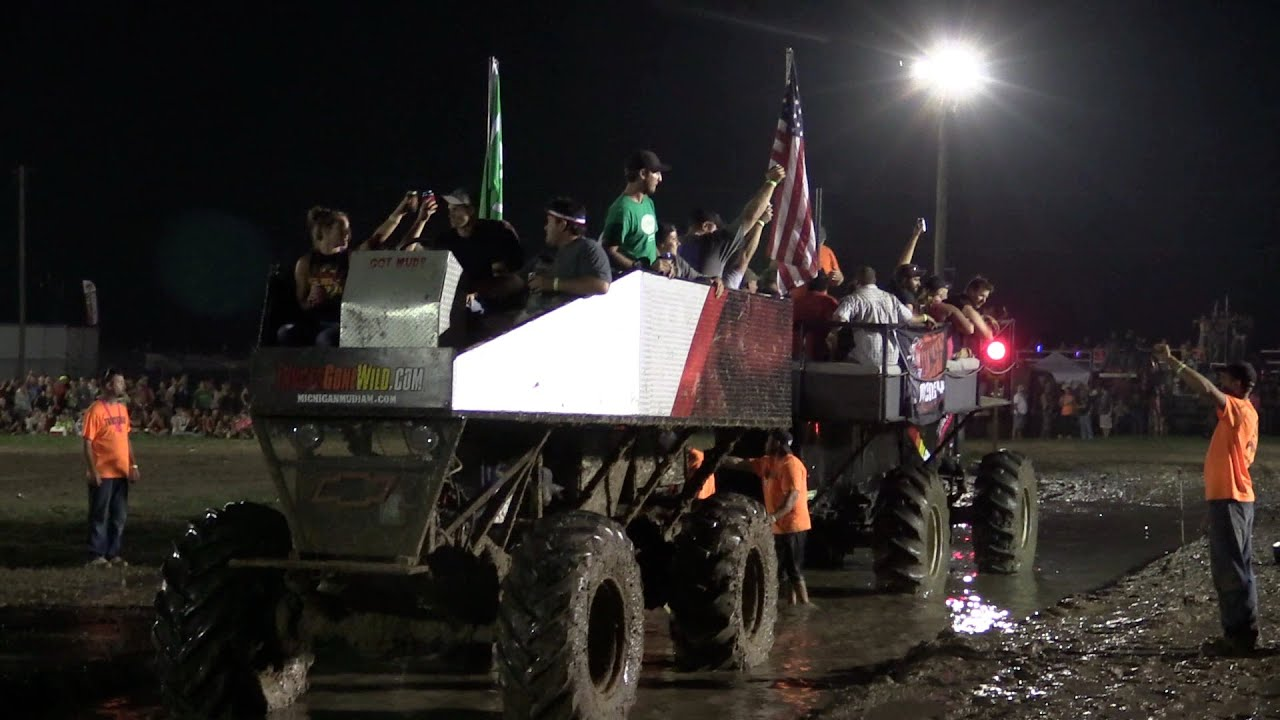 Trucks Gone Wild Michigan >> Deck Buggy Tug o War! - YouTube