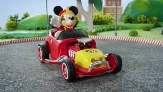 Mickey Transforming Roadster Racer R/C from Jada Toys