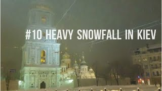 Snow in downtown Kiev - Киïв (2012)