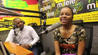 Alex na Jalas wamkatia Nandy, The African Princess Studioni