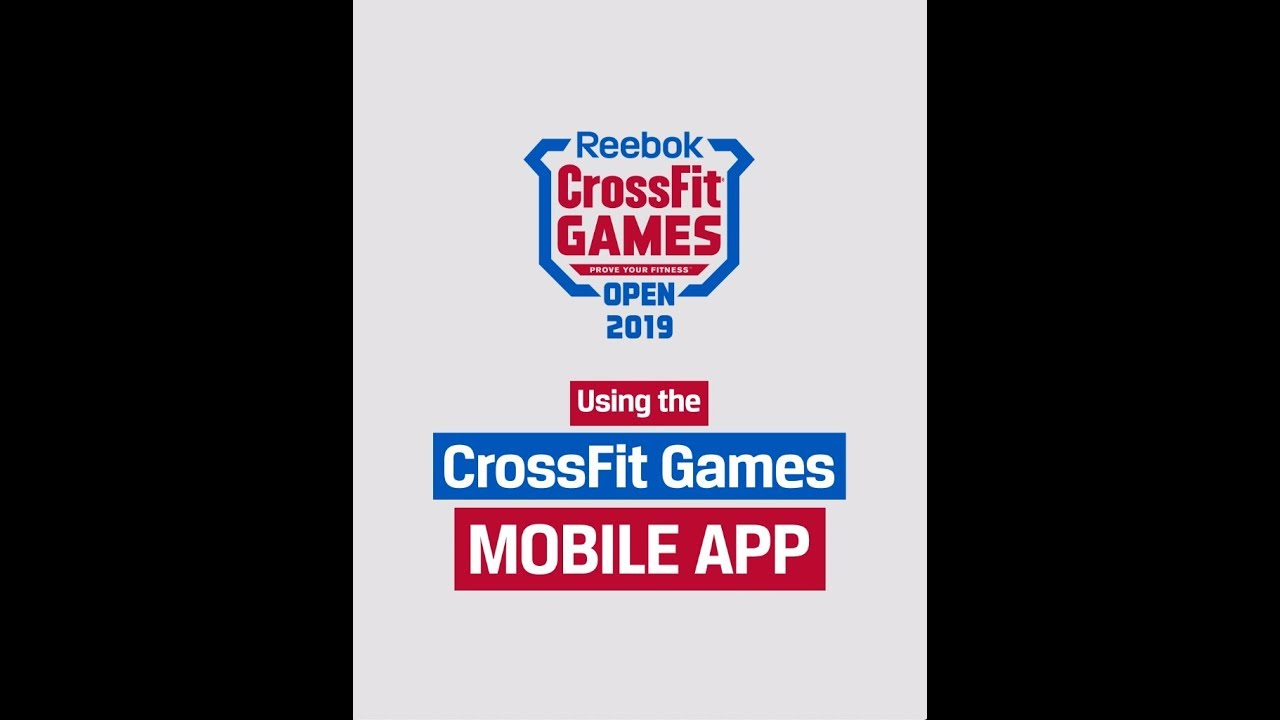 2019 Crossfit Games App Tour Youtube