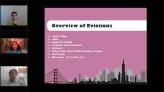 Current State of Evictions:  What Advocates Should Know While Working with Students During COVID