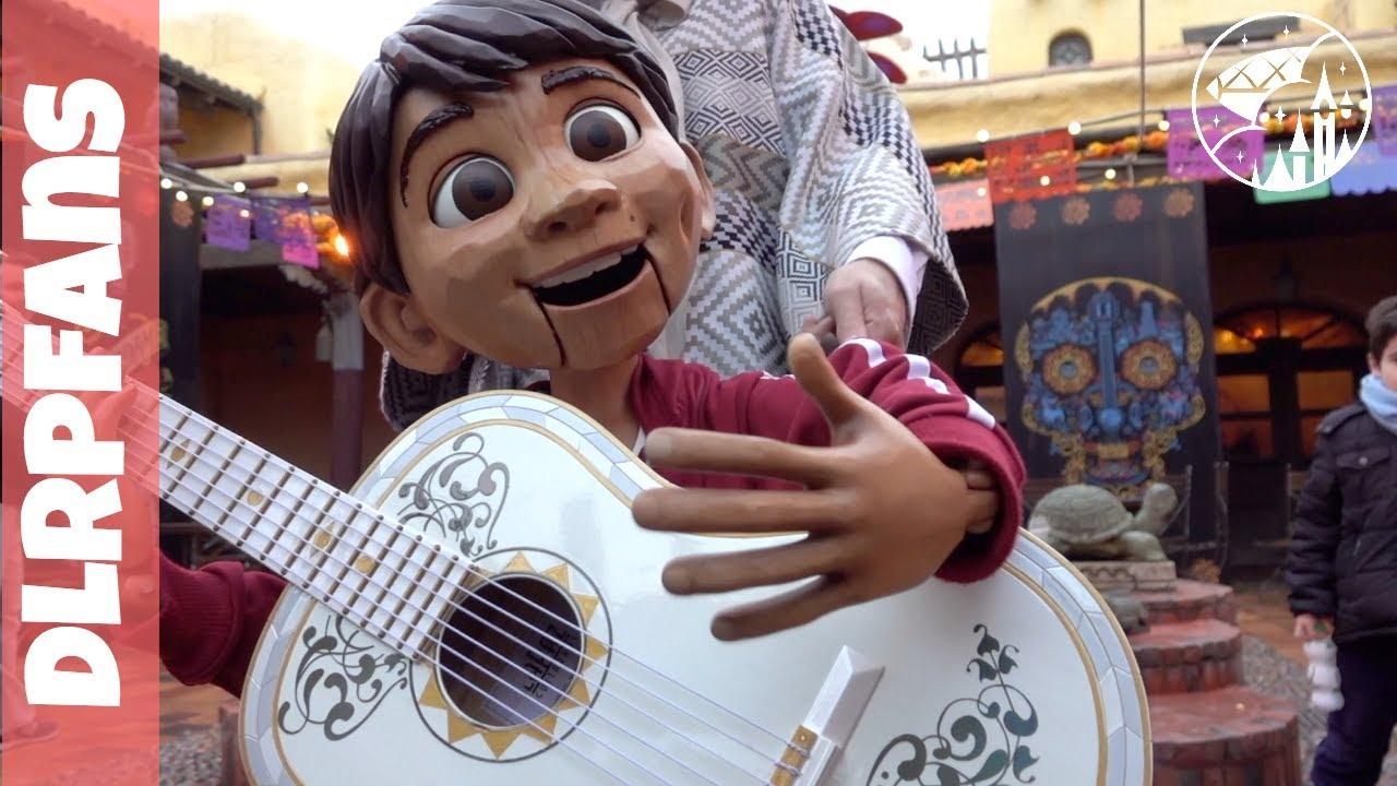 Meet miguel from disney 39 s pixar coco at disneyland paris for Salon pixar paris