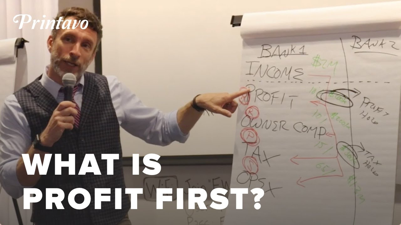 What is Profit First? | Mike Michalowicz | PrintHustlers Conf 2019