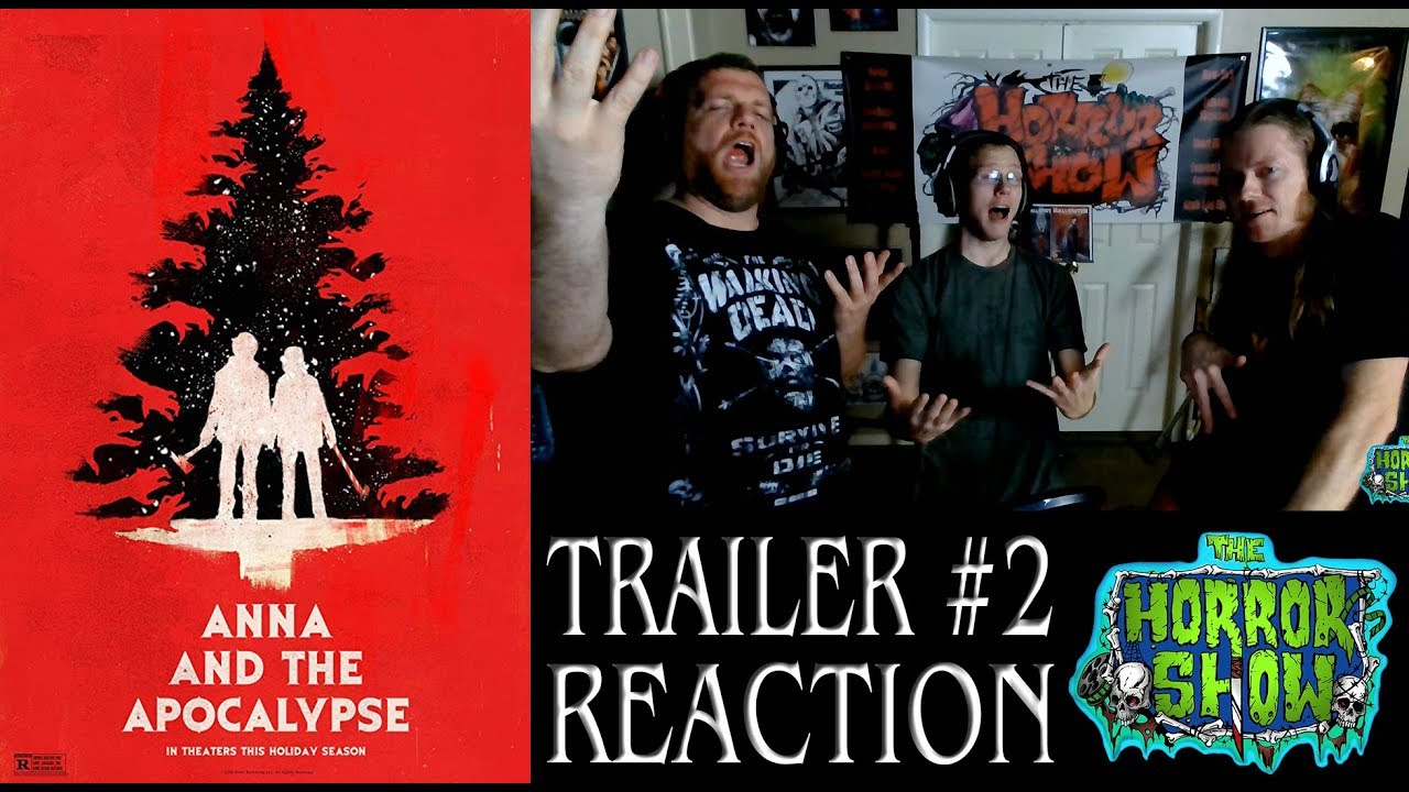 Zombie Christmas Musical.Anna And The Apocalypse 2018 Christmas Zombie Musical Horror Movie Trailer Reaction