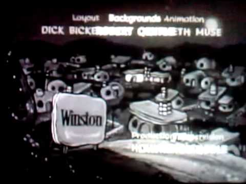 The Flintstones credits (B&W)