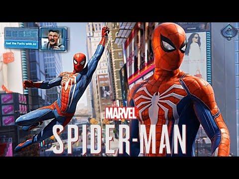 Spider-Man PS4 - New Free Roam Gameplay, J. Jonah Jameson Revealed!