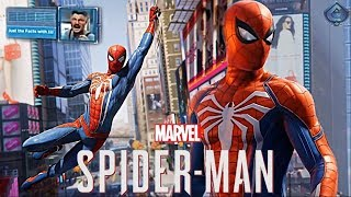 Video Spider-Man PS4 - New Free Roam Gameplay, J. Jonah Jameson Revealed! download MP3, 3GP, MP4, WEBM, AVI, FLV Juli 2018