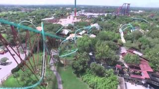 Busch Gardens Memorial Day DJI Phantom 3