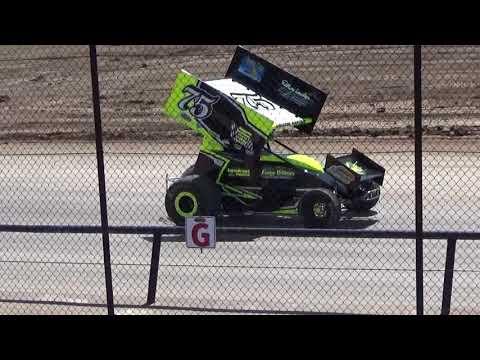 Canandaigua Speedway Brandyn Griffin practice 1 4/21/18