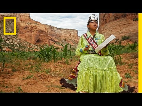 See What Canyon Life Is Like for a Navajo Pageant Winner  Short Film Showcase
