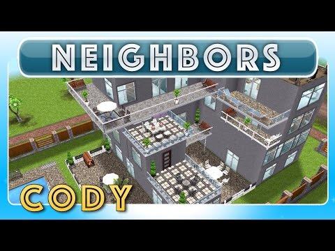 Sims FreePlay - Cody's 2nd House (Neighbor's Original House Design)
