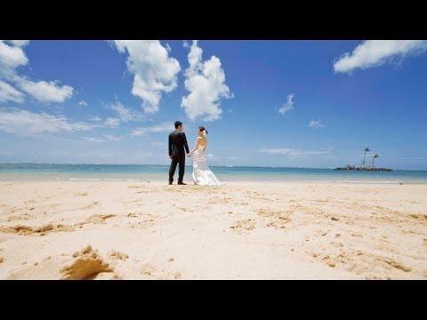 Kahala Hotel Wedding in Hawaii - Ayumu and Kosuke