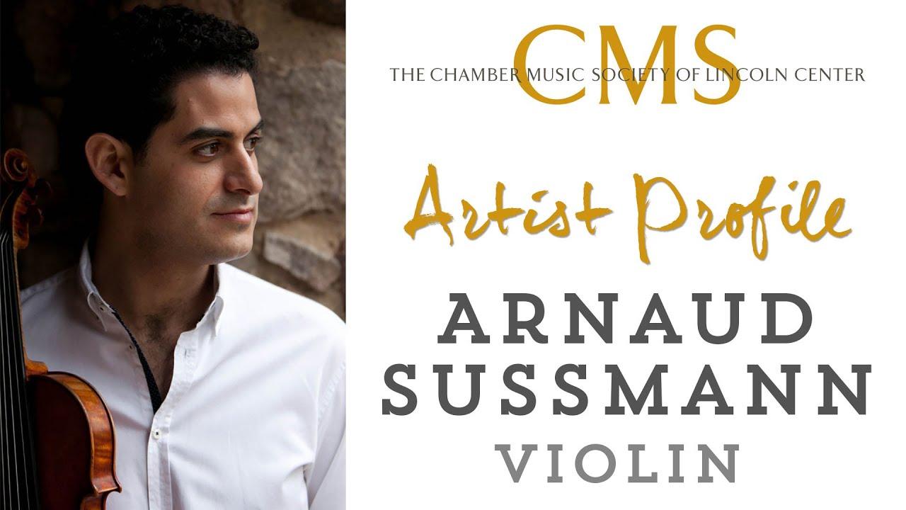 Arnaud Sussmann Artist Profile - August 2013