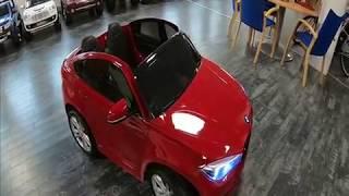 Voiture electrique enfant BMW X6M