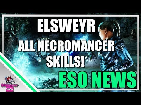 Eso Necromancer News