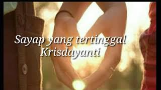 Lirik Lagu Sayap yang tertinggal (OST Film Hanum & Rangga )
