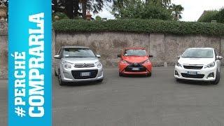 Citroen C1, Peugeot 108, Toyota Aygo (2014) | Perché comprarle e... perché no