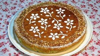 Receta Tarta ángel de almendra -  Una deliciosa tarta de almendras con cabello de ángel