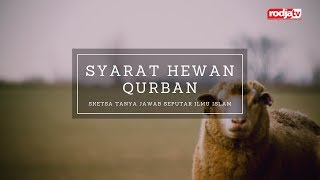 Sketsa Tanya Jawab: Syarat Hewan Qurban l Ustadz Abu Yahya Badrusalam, Lc.