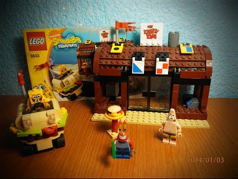 Lego Spongebob Set 3833 Krusty Krab Adventures - YouTube