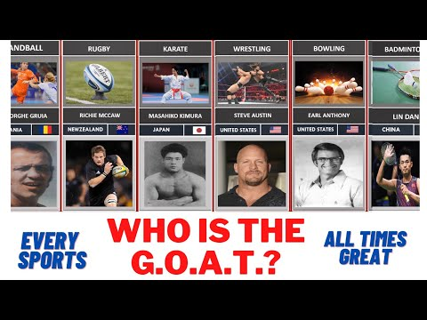 G.O.A.T.  LIST: Greatest Players Of All Time In Every Sport