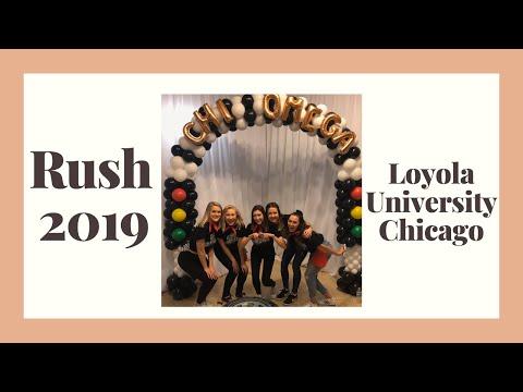 Sorority Rush - 2019 - Loyola Chicago