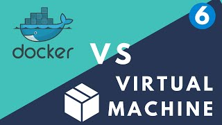 Docker vs Virtual Machine | simply explained || Kubernetes Tutorial 6
