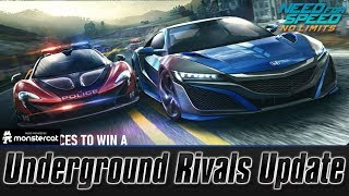 Need For Speed No Limits: Underground Rivals Update   NEW CARS   NEW LOCATION   REP INCREASE
