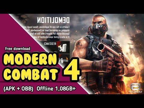 (1.8GB) Modern Combat 4 Mod Apk + Obb For Android Free Download