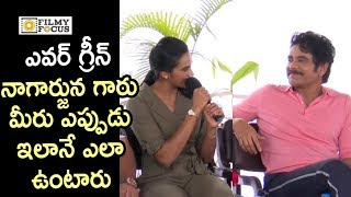 PV Sindhu Super Cool Words about Nagarjuna @her Felicitation