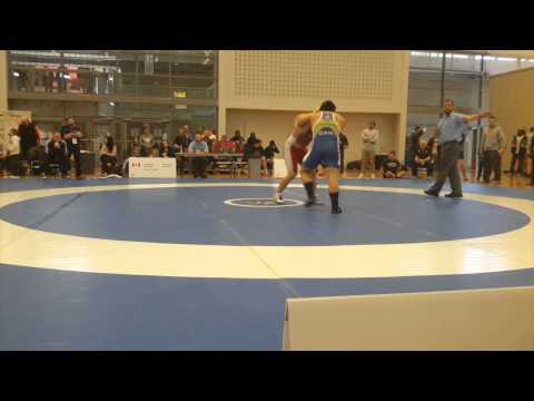 2015 Senior Greco-Roman National Championships: 85 kg Alex Brown-Theriault vs. Tom Barreiro