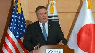 Pompeo briefs Asia allies after North Korea summit