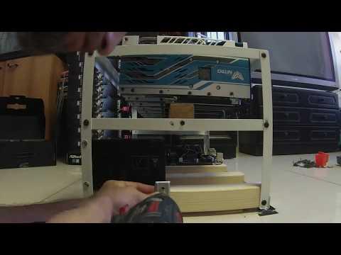 Building Mining Rig RX 580 Nitro+ 8GB Special Edition x 8 GPU