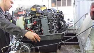 видео Лодочный мотор Тохатсу 40
