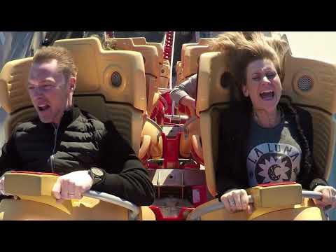 Ronan Keating sings Life Is A Rollercoaster... on a rollercoaster! | Magic Breakfast