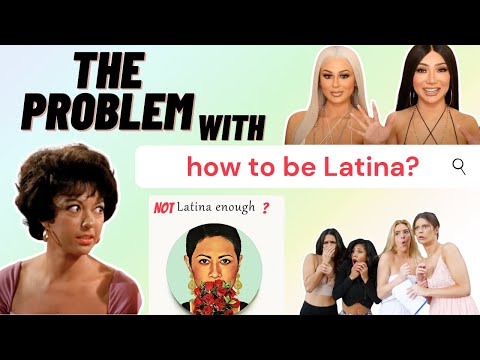 The problem with reinforcing stereotypes| Not Latina enough?