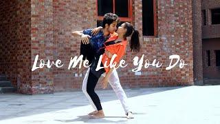 Video Ellie Goulding-Love me like you do | Tejasman Talukdar & Nikita Ghosh | Dance Cover download MP3, 3GP, MP4, WEBM, AVI, FLV Maret 2018