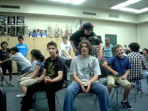 Musical Chairs in music class! :D (video 3)