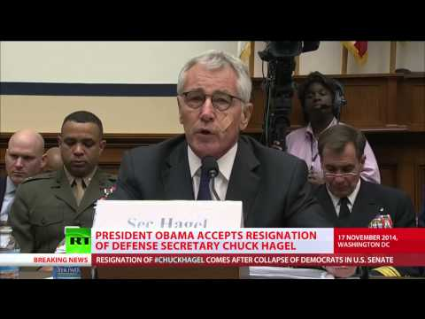 December 2014 Breaking News Obama Fired Hagel over taking Stand on Syria ISIS strategy???