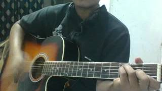 Gulabi Aankhein Jo Teri Dekhi guitar cover
