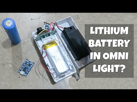 Replace lead-acid battery with Lithium