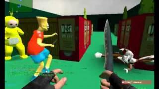 Counter-Strike: Source Deathrun gameplay